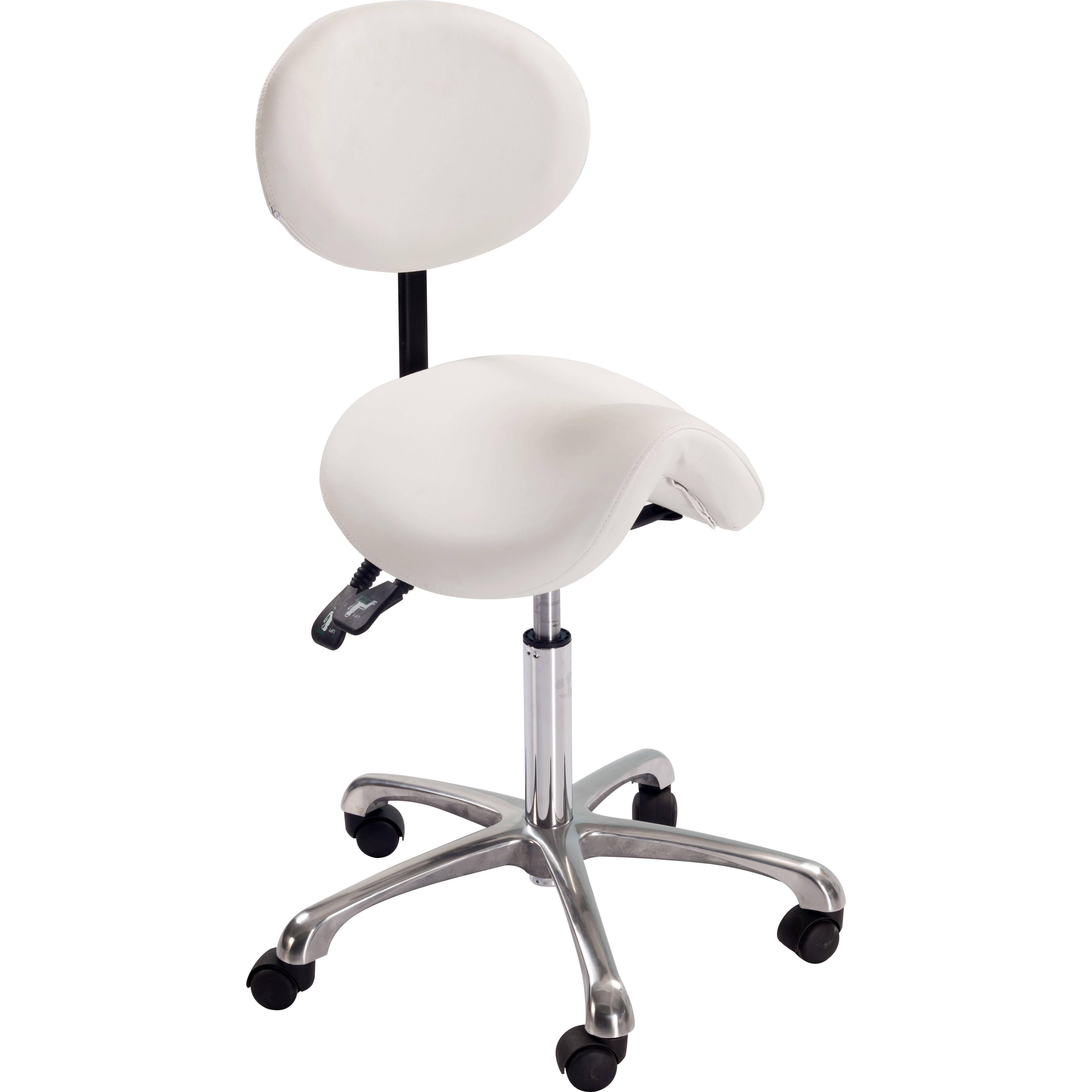 מפואר כיסא אוכף | כסא טיפולים פניאומטי עם משענת - אלקטרו קנול XO-57